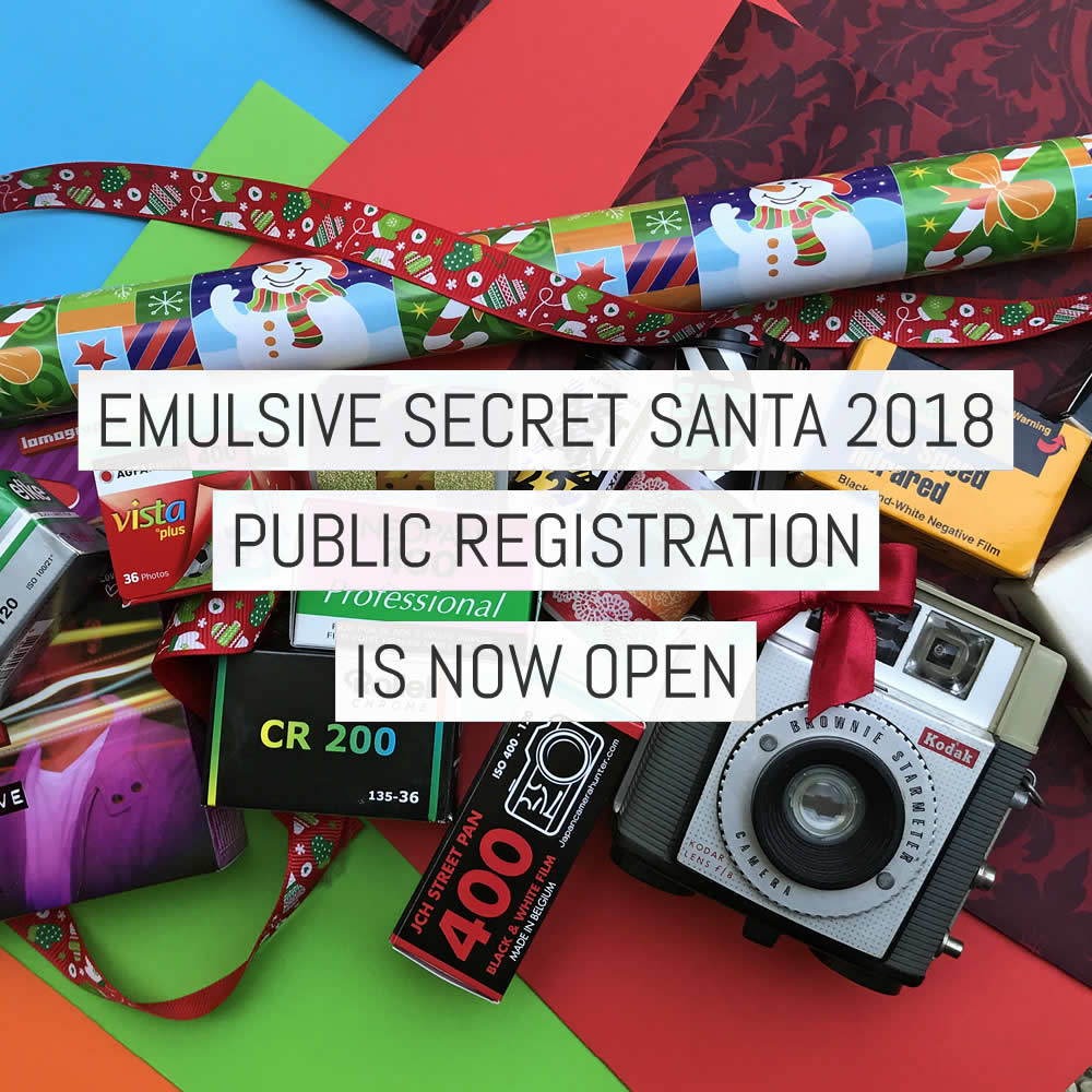 EMULSIVE Secret Santa 2018 - public registration is now open